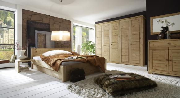 Kleiderschrank Schrank Schlafzimmerschrank 5türig Kiefer massiv - Vorschau 5