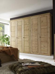 Kleiderschrank Schrank Schlafzimmerschrank 5türig Kiefer massiv