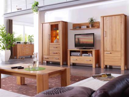 Wohnzimmer Schrank Sideboard Wandboard TV Kernbuche massiv - Vorschau