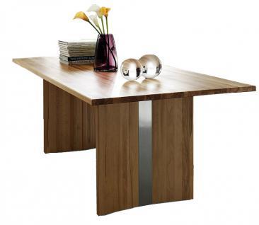 Wangentisch Esstisch Tisch Küchentisch Esszimmertisch Esszimmer Kernbuche geölt - Vorschau 2