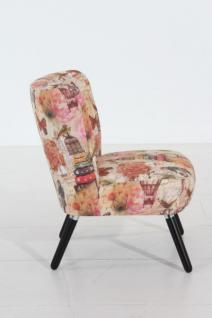 Stuhlsessel Sessel Stuhl Retro Retrostil rost Motiv Vintage Nostalgie - Vorschau 2