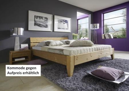 Bett Doppelbett Systembett Kiefer massiv gelaugt geölt unendlichen Möglichkeiten - Vorschau 1
