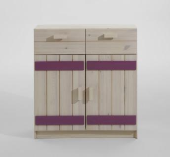 massivholz sideboard anrichte kommode kernbuche massiv holz ge lt pictures to pin on pinterest. Black Bedroom Furniture Sets. Home Design Ideas