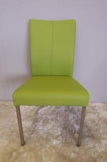 stuhl freischwinger leder edelstahl online kaufen yatego. Black Bedroom Furniture Sets. Home Design Ideas