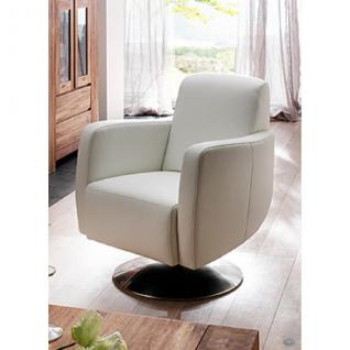 Drehsessel Fernsehsessel Cocktailsessel Einzelsessel Armlehnsessel Sessel Leder - Vorschau 1
