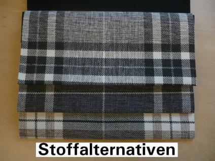 Hocker Sitzhocker Fußhocker Polsterhocker Landhausstil Holzfüßen wenge natur - Vorschau 3