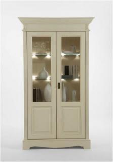 vitrine glasvitrine sammlervitrine geschirrschrank glasschrank kiefer massiv kaufen bei saku. Black Bedroom Furniture Sets. Home Design Ideas