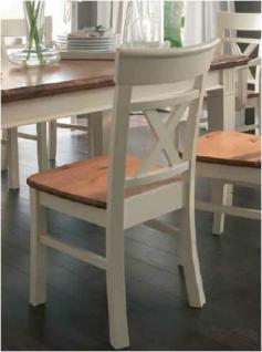 Stuhl mit Holzsitz Holzstuhl Esszimmerstuhl Stuhl-Set 2er Set Kiefer massiv