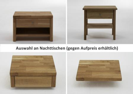 Bett Doppelbett Kernbuche massiv geölt Bettsystem Massivholz Variantenvielfalt - Vorschau 5