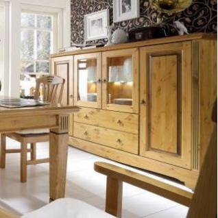 highboard sideboard anrichte kommode esszimmerschrank kiefer massiv patiniert kaufen bei saku. Black Bedroom Furniture Sets. Home Design Ideas