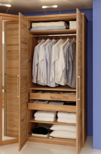 kleiderschrank schrank system schrank kombi schrank kernbuche massiv ge lt kaufen bei saku. Black Bedroom Furniture Sets. Home Design Ideas