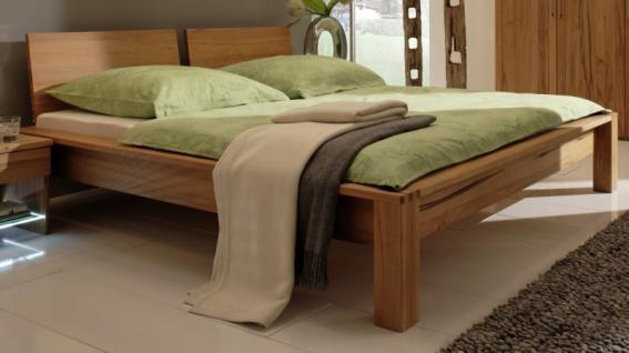 bett doppelbett ehebett kopfteil kernbuche massiv ge lt. Black Bedroom Furniture Sets. Home Design Ideas
