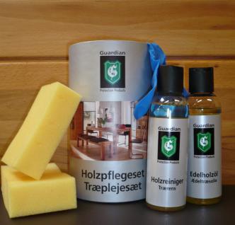 Holzpflegeset Holzpflege Massivholzpflege Holzreiniger Edelholzöl Pflegeset - Vorschau