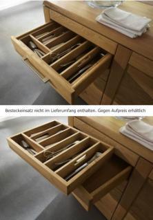 Sideboard Kommode Anrichte Kernbuche Wildeiche Bianco geölt massiv - Vorschau 5