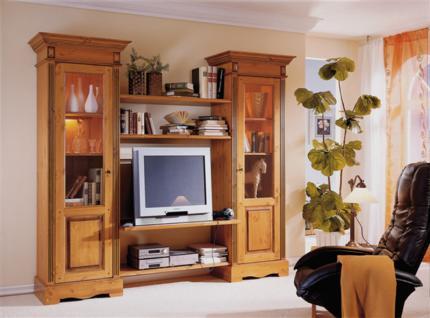 wohnwand landhausstil online bestellen bei yatego. Black Bedroom Furniture Sets. Home Design Ideas