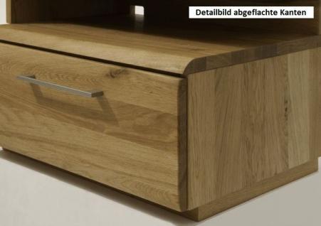tv bank tv m bel tv tisch hifi kernbuche wildeiche ge lt massiv kaufen bei saku system. Black Bedroom Furniture Sets. Home Design Ideas