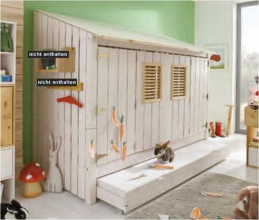 Jugendbett kinderbett kojenbett bett kiefer massiv weiss for Kojenbett jugendzimmer