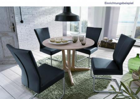 Tisch Esstisch Rundtisch Konferenztisch Wohnzimmer Esszimmer Kernbuche massiv - Vorschau 2