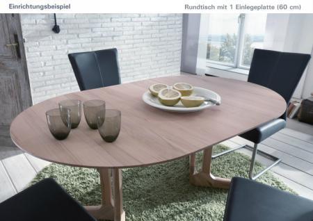 Tisch Esstisch Rundtisch Konferenztisch Esszimmer Büro Kernbuche massiv - Vorschau 3