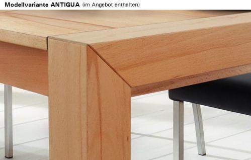 Tisch Esstisch Konferenztisch Tisch-System Ausziehplatte Kernbuche massiv - Vorschau 2