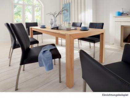 Tisch Esstisch Konferenztisch Tisch-System Ausziehplatte Kernbuche massiv