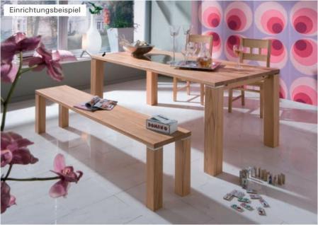 Tisch Esstisch System-Esstisch Alu-Einlage Kernbuche massiv - Vorschau 2