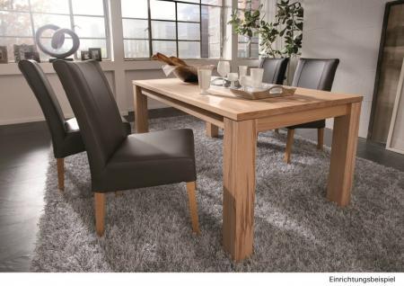 Tisch Esstisch System-Esstisch Wohnzimmertisch Küchentisch Kernbuche massiv