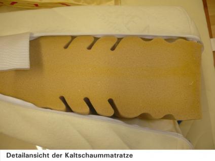 Matratze Kaltschaummatratze geruchlos Allergiker 7-Zonen H2 H3 - Vorschau 3