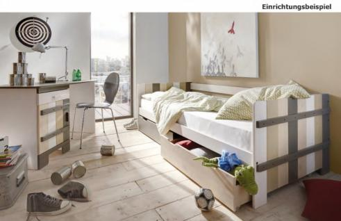 einzelbett kinderbett jugendbett schubladenbett. Black Bedroom Furniture Sets. Home Design Ideas