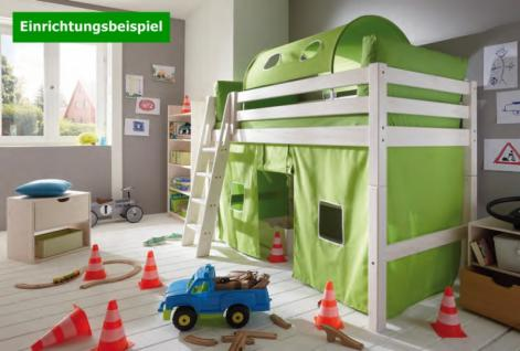 hochbett bett kinderbett halbhochbett kinderzimmer. Black Bedroom Furniture Sets. Home Design Ideas