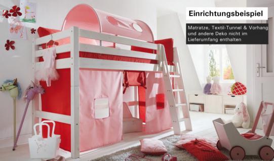 hochbett bett kinderbett halbhochbett kinderzimmer. Black Bedroom Furniture Sets. Home Design Ideas
