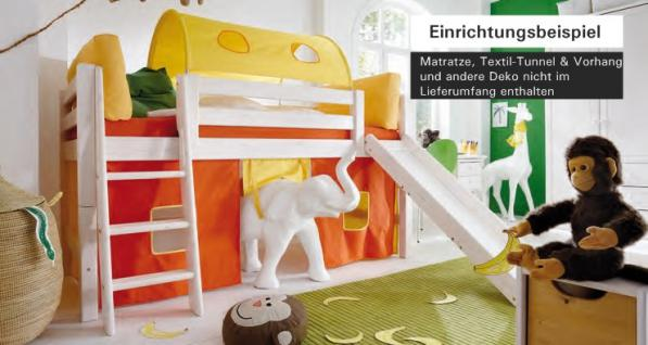 kinderzimmer hochbett rutsche g nstig online kaufen yatego. Black Bedroom Furniture Sets. Home Design Ideas