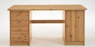 Schreibtisch Kinder-Schreibtisch Kiefer massiv Jugendzimmer Schubladen - Vorschau 2