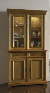 vitrinenschrank vitrine schrank fichte massiv antik gewachst viktorianisch kaufen bei saku. Black Bedroom Furniture Sets. Home Design Ideas