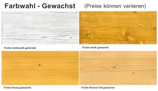 Wandboard Wandregal Hänger Regale Set Steckboard Fichte massiv honig gewachst - Vorschau 4