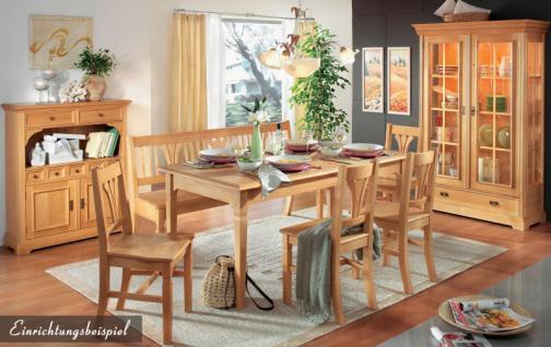 vitrine vitrinenschrank sprossenvitrine fichte massiv honig lackiert kaufen bei saku system. Black Bedroom Furniture Sets. Home Design Ideas
