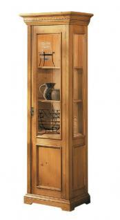 vitrine vitrinenschrank hochschrank fichte massiv antik. Black Bedroom Furniture Sets. Home Design Ideas