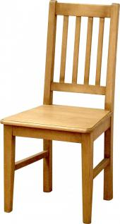 Stühle Stuhl-Set Küchenstuhl Esszimmerstuhl Fichte massiv Antikweiß shabby - Vorschau 2