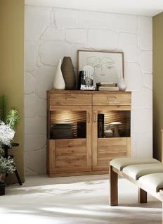 Highboard Sideboard Anrichte Wohnzimmer Esszimmer Wildeiche geölt modern
