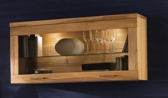 h ngeschrank wandschrank wandkonsole wohnzimmer kernbuche. Black Bedroom Furniture Sets. Home Design Ideas