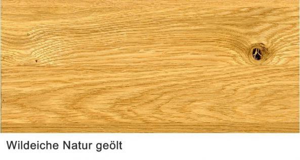 Wandboard Wandregal Hängeregal Steckboard Wohnzimmer Kernbuche massiv geölt - Vorschau 4