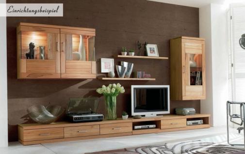 h ngeschrank wandschrank schrank vitrine wohnzimmer kernbuche massiv ge lt kaufen bei saku. Black Bedroom Furniture Sets. Home Design Ideas