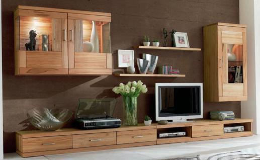 Wohnzimmerwand Gunstig : Wohnwand Wohnzimmer TV Lowboard Wandboard ...