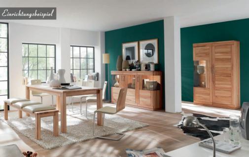 Highboard sideboard schrank vitrine wohnzimmer esszimmer kernbuche ...