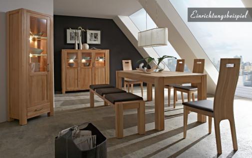 Esstisch Tisch Esszimmertisch Esszimmer Wohnzimmer Kernbuche massiv geölt - Vorschau 5