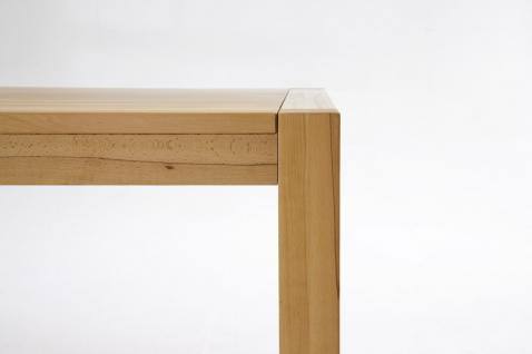 Esstisch Tisch Esszimmertisch Esszimmer Wohnzimmer Kernbuche massiv geölt - Vorschau 2