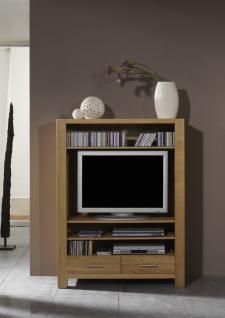 TV-Regal TV-Board TV-Möbel Wohnzimmer Eiche massiv natur geölt