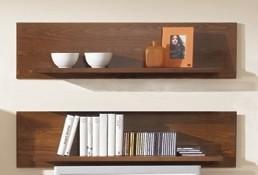 wandboard wandregal h ngeregal wandkonsole 2 stk buche massiv lackiert kaufen bei saku system. Black Bedroom Furniture Sets. Home Design Ideas