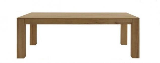 Esstisch Esszimmertisch Tisch versch. Größen Kernbuche oder Wildeiche massiv - Vorschau 1