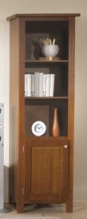 Bücherregal Regal Schrank Wohnzimmer Standregal Buche massiv Landhaus lackiert - Vorschau 1